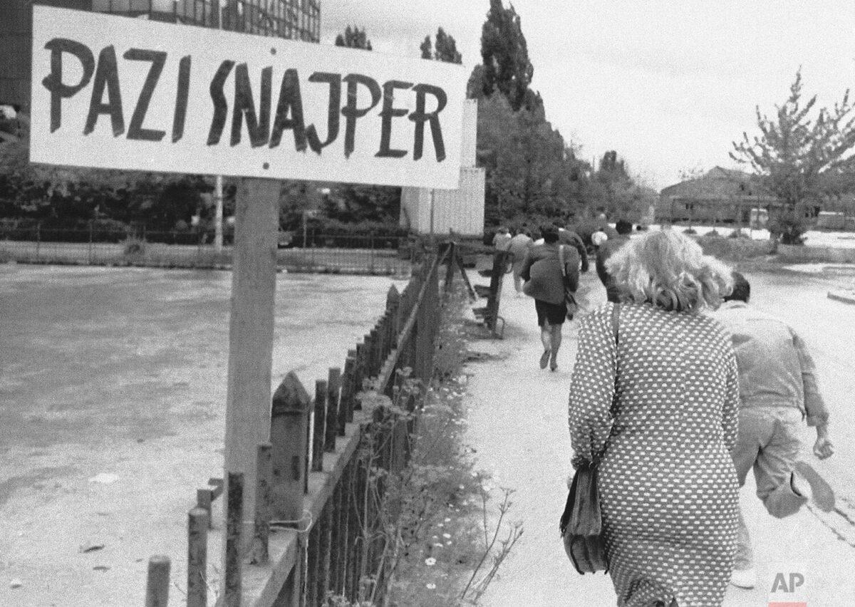 In Sarajevo, Terror in the Crosshairs